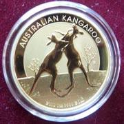 1 Oz Gold Australien Känguru