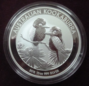 1 Kg Silber Australien Kookaburra 2018/19